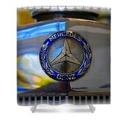 39 Mercedes-benz Logo Shower Curtain