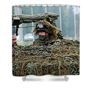 A Recce Or Scout Team Of The Belgian Shower Curtain