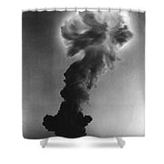 Atomic Bomb Explosion Shower Curtain