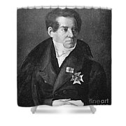 August Von Schlegel Shower Curtain