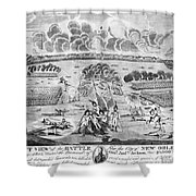Battle Of New Orleans Shower Curtain