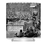 Benjamin Disraeli (1804-1881) Shower Curtain