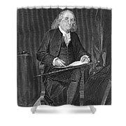 Benjamin Franklin, American Polymath Shower Curtain