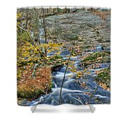 Big Hunting Creek Upstream From Cunningham Falls Shower Curtain