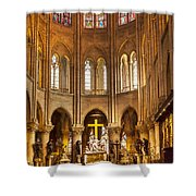 Cathedral Notre Dame  Shower Curtain