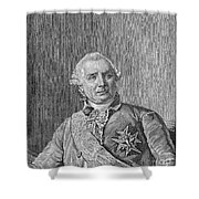 Charles De Vergennes Shower Curtain
