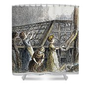 Child Labor, 1873 Shower Curtain
