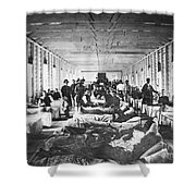 Civil War: Hospital Shower Curtain