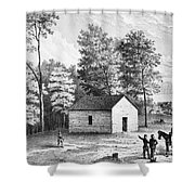 Civil War: Shiloh, 1862 Shower Curtain