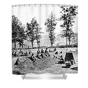 Civil War: Soldiers Shower Curtain