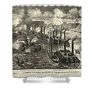 Civil War: Vicksburg, 1863 Shower Curtain