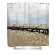 Clacton Pier Shower Curtain