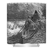 Coleridge: Ancient Mariner Shower Curtain