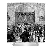 Cornelius Vanderbilt Shower Curtain