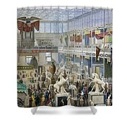 Crystal Palace, 1851 Shower Curtain
