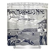 Dime Novel, 1897 Shower Curtain