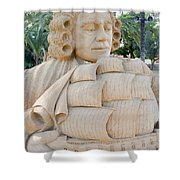 Fairytale Sand Sculpture  Shower Curtain