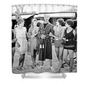 Film Still: Beach Shower Curtain