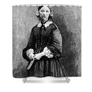 Florence Nightingale, English Nurse Shower Curtain