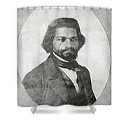 Frederick Douglass, African-american Shower Curtain