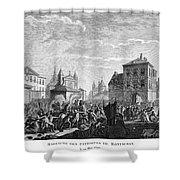 French Revolution, 1790 Shower Curtain