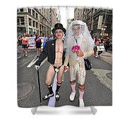 Gay Pride Couples Nyc 2011 Shower Curtain