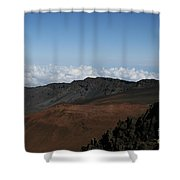 Haleakala Volcano Maui Hawaii Shower Curtain