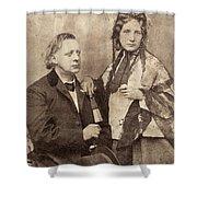 Henry Ward Beecher Shower Curtain