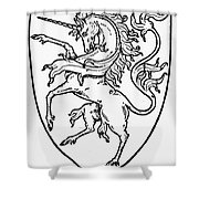Heraldry Shower Curtain