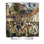 Homestead Strike, 1892 Shower Curtain by Granger