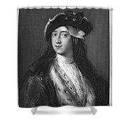 Horace Walpole (1717-1797) Shower Curtain