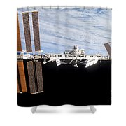 International Space Station Shower Curtain