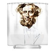 John Tyndall, Irish Physicist Shower Curtain