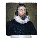 John Winthrop (1588-1649) Shower Curtain