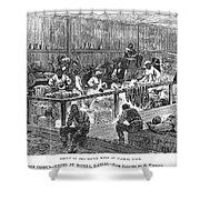 Kansas: Black Exodus, 1879 Shower Curtain