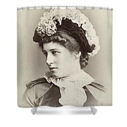 Lillie Langtry (1852-1929) Shower Curtain