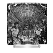 Louis, Dauphin Of France Shower Curtain