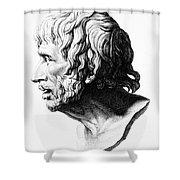 Lucius Annaeus Seneca Shower Curtain by Granger