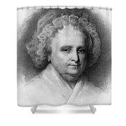 Martha Washington, American Patriot Shower Curtain