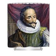 Miguel De Cervantes Shower Curtain