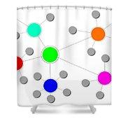Network Shower Curtain