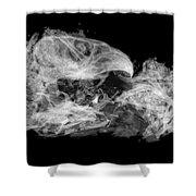 Owl Pellet Shower Curtain