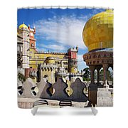 Pena Palace Shower Curtain