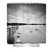 Penyfan Pond Shower Curtain