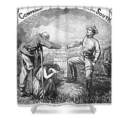 Presidential Campaign, 1864 Shower Curtain
