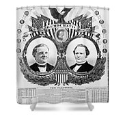 Presidential Campaign, 1876 Shower Curtain