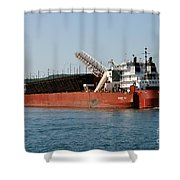 Presque Isle Ship Shower Curtain
