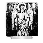 Raphael Archangel Shower Curtain