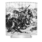 Sam Houston (1793-1863) Shower Curtain