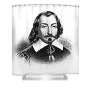 Samuel De Champlain Shower Curtain